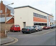 SU1585 : Carpet Warehouse, Beatrice Street, Swindon by Jaggery