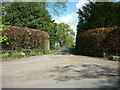 SE4943 : The entrance to Oxton Hall, Oxton, Tadcaster by Ian S