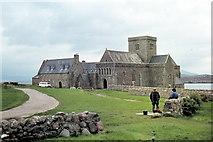 NM2824 : Isle of Iona, Iona Abbey - 1985 by Helmut Zozmann