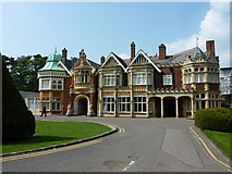SP8633 : The Mansion, Bletchley Park by pam fray