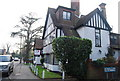 TQ2193 : House at the junction of Highwood Hill and Nan Clark's Lane by N Chadwick