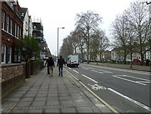 TQ2576 : Putney Bridge to Parsons Green and back via Hurlingham (106) by Basher Eyre