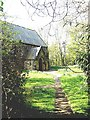 NZ3365 : Path through St Paul's churchyard by Stanley Howe