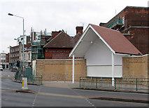 SK5838 : Trent Bridge Cricket Ground: new ticket office by John Sutton