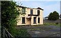 J3674 : Derelict building, Belfast by Albert Bridge