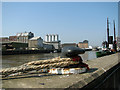 TG5207 : View across the River Yare, Great Yarmouth by Evelyn Simak