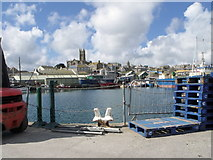 SW4730 : Penzance harbour by nick macneill