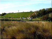 NZ3668 : Herd beach car park by Stanley Howe