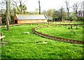 NZ4059 : Miniature railway, Roker Park by Stanley Howe