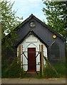 TQ3091 : 'Tin tabernacle', Bowes Park (1) by Julian Osley