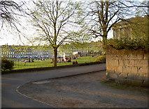 ST7465 : Gravel walk near the Royal Crescent by Neil Owen