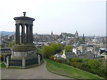 NT2674 : Dugald Stewart Memorial - Calton Hill by Anthony Parkes