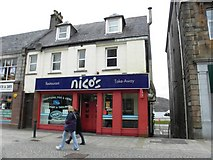 NN1073 : Nico's, Fort William by Kenneth  Allen