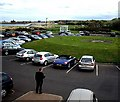 NZ3668 : Hotel car park by Stanley Howe