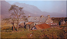 NH0680 : Shenavall Bothy in 1959 by Iain A Robertson
