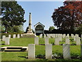 TM1745 : Ipswich Old Cemetery, WWI Field of Remembrance by Adrian S Pye