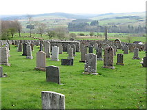 NY4786 : Liddesdale from Ettleton Cemetery by M J Richardson