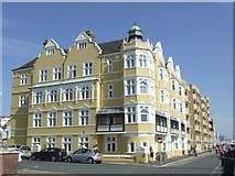 TQ2804 : Seafront building, Hove by Malc McDonald