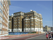 TQ2804 : Buildings on Hove seafront by Malc McDonald