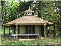 ST5071 : Summerhouse at Tyntesfield Park by don cload