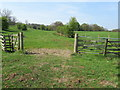 SE0848 : Footpath between Gate Croft and Small Banks by Chris Heaton
