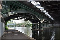 TL1998 : Railway Bridges by Ashley Dace