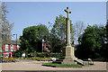 SJ9286 : Hazel Grove War Memorial by David Lally