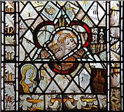 TM1273 : St Mary, Yaxley - Stained glass window by John Salmon