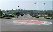 SO5012 : B4293 Monnow Bridge, Monmouth by Jaggery