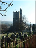 SD8789 : St Margaret's Hawes by Keith Evans