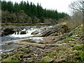 NN2432 : Falls on the River Orchy by Dave Fergusson