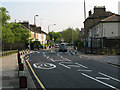 TQ4078 : Zebra crossing on Westcombe Hill by Stephen Craven