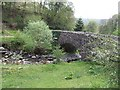 SN9291 : Pont Nant Ysgwiliwch by John M