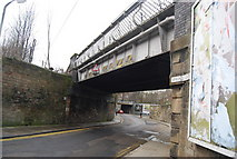 NT2774 : Railway Bridge, Spring Gardens by N Chadwick