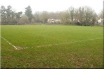 ST2896 : Football pitch, Pontnewydd, Cwmbran by Jaggery
