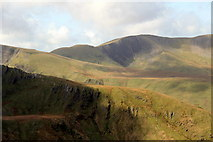 SH5956 : Snowdonia National Park from the Mountain Railway by Christine Matthews