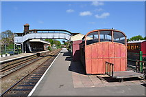 TL8928 : Chappel & Wakes Colne Station by Ashley Dace