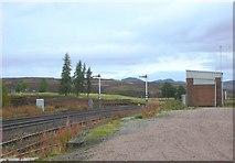 NN6385 : Dalwhinnie Station by John MacKenzie