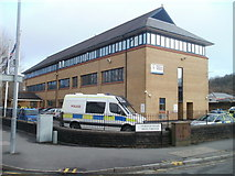 SS7597 : Neath Police Station by Jaggery
