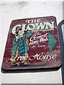 TQ8109 : The Clown sign by Oast House Archive