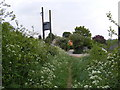 TM3258 : Hollow Lane footpath to Keepers Lane by Adrian Cable