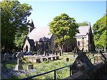 SD2806 : Bluebells at St.Lukes Parish Church by Raymond Knapman