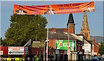 J3574 : Election poster, Belfast (13) by Albert Bridge