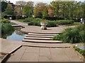 TQ3005 : Stepping Stones - Preston Park by Paul Gillett
