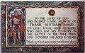 SU9643 : St Peter & St Paul, Godalming, Surrey - Wall monument by John Salmon