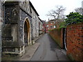 SU4828 : Winchester - St Michaels Passage by Chris Talbot