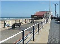 NZ6025 : Coatham promenade by Humphrey Bolton