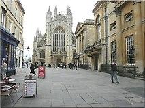 ST7564 : Bath Abbey by John Baker