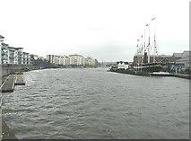 ST5772 : The Floating Dock, Bristol by John Baker