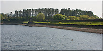 SD7217 : The dam at Turton and Entwistle Reservoir by Ian Greig